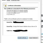Install certificates on WatchGuard for SSL VPN or general management